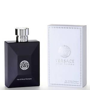 Versace Pour Homme Hair + Body Shampoo