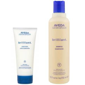 Aveda Brilliant Duo- Shampoo & Conditioner