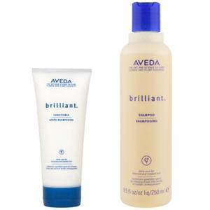 Aveda Brilliant Duo- Shampoing & Après-shampoing
