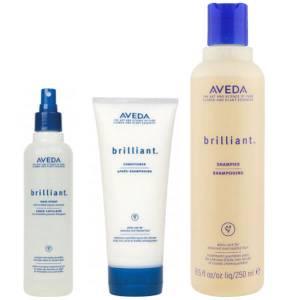 Aveda BrilliantTrio-Shampoo, Conditioner & Hair Spray
