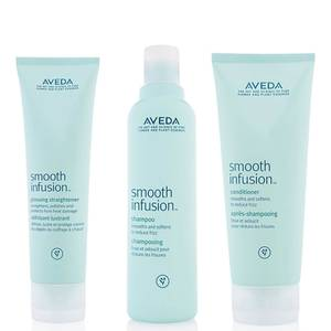 Aveda Smooth Infusion Trio - Shampoo, Conditioner & Glossing Straightener