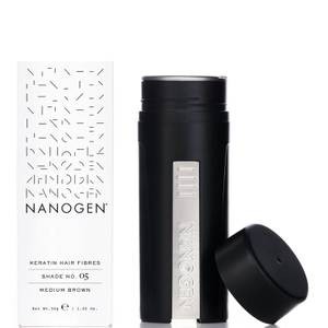 Nanogen Hair Thickening Fibres Medium Brown (30g)