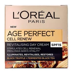 L'Oréal Paris Dermo Expertise Age Perfect Cell Renew Advanced Restoring Day Cream - SPF15 (50ml)