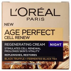 """Soin de renaissance cellulaire nuit """"Age Perfect"""" de L'Oréal Paris -(50 ml)"""