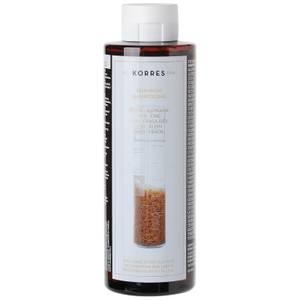 KORRES Natural Rice Proteins and Linden szampon do włosów cienkich i delikatnych (250 ml)