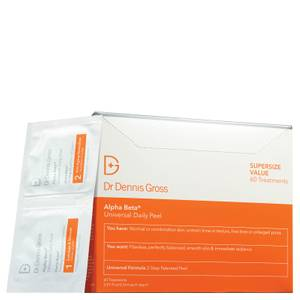 Dr Dennis Gross Skincare Alpha Beta Universal Daily Peel (Pack of 60, Worth $204)