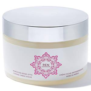 REN Clean Skincare Moroccan Rose Otto Firming Creme Riche