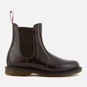 Dr. Martens Women's Flora Arcadia Leather Leather Chelsea Boots - Cherry Red