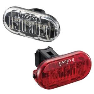 Cateye Omni 3 LED Front-und Rücklicht Set