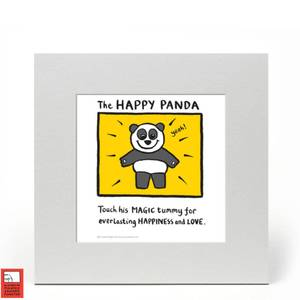 Happy Panda von Edward Monkton