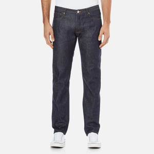 A.P.C. Men's Petit New Standard Mid Rise Jeans - Selvedge Indigo