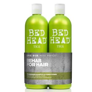 TIGI Bed Head Urban Antidotes Re-energize Daily Shampoo and Conditioner for Normal Hair 2 x 750ml