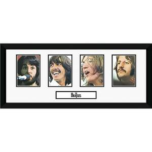 """The Beatles Storyboard - 30"""""""" x 12"""""""" Framed Photographic"""