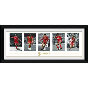 "Liverpool Legends - 30"""" x 12"""" Framed Photographic"