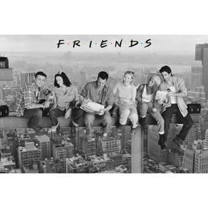 Friends On Girder - Maxi Poster - 61 x 91.5cm