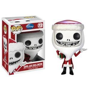 Figura Pop! Vinyl Santa Jack Skeleton - Pesadilla antes de Navidad