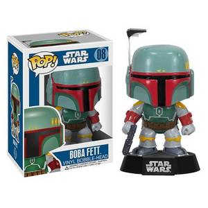Star Wars - Boba Fett Figura Pop! Vinyl