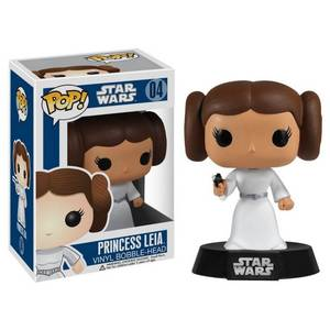 Star Wars Princess Leia Pop! Vinyl Figure Bobblehead