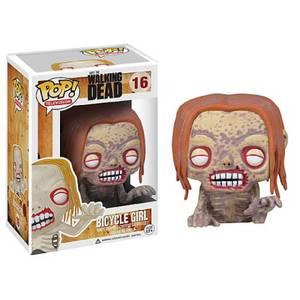 The Walking Dead Bicycle Girl Zombie Pop! Vinyl Figure