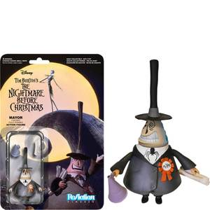 "ReAction The Nightmare Before Christmas - Mayor - 3 3/4"""" Action Figure"