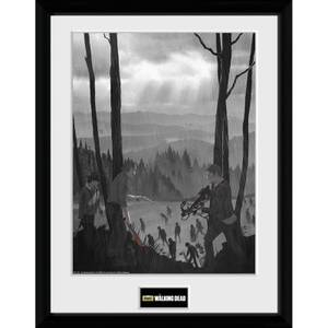 The Walking Dead The Long Way Home - 30 x 40cm Collector Print