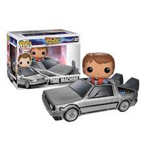 Back to the Future Marty with Delorean Mcfly Funko Pop! Vinyl