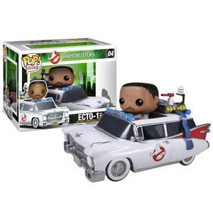 Figurine Pop! Zeddemore avec Ectowagon S.O.S Fantômes