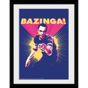 The Big Bang Theory Bazinga - 30x40 Collector Prints