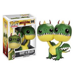 How to Train Your Dragon 2 Belch And Barf Funko Pop! Vinyl
