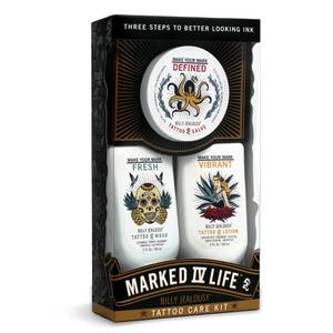 Billy Jealousy Marked IV Life Tattoo Kit