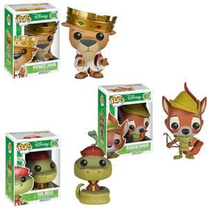 Disney Robin Hood Funko Pop! Vinyl Bundle