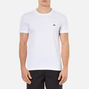 Lacoste Men's Cotton Crewneck T-Shirt - White