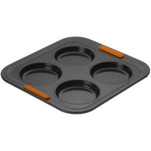 Le Creuset Bakeware Toughened Non Stick 4 Cup Yorkshire Pudding Tray
