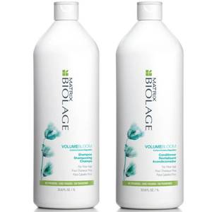 Matrix Biolage VolumeBloom Shampoo and Conditioner (1000ml)