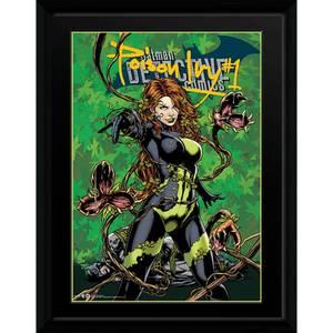 DC Comics Poison Ivy - 16 x 12 Framed Photgraphic