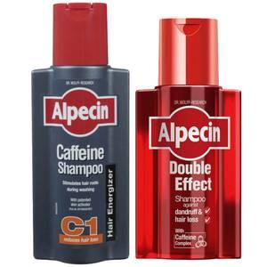 Alpecin Double Effect zestaw z szamponem z kofeiną