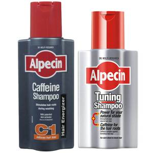 Alpecin Tuning and Caffeine Shampoo Duo