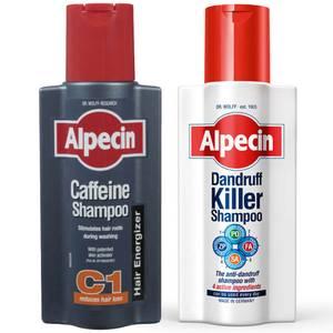 Alpecin Dandruff Killer zestaw z szamponem z kofeiną