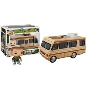 Breaking Bad The Crystal Ship RV with Jesse Pinkman Funko Pop! Ride