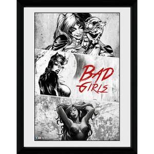 DC Comics Batman Comic Badgirls - Framed Photographic - 16 x 12inch