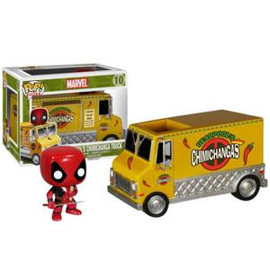 Marvel Deadpool Fourgon Chimichanga Figurine Funko Pop!