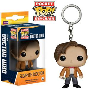 Doctor Who 11th Doctor Pocket Pop! Schlüsselanhänger