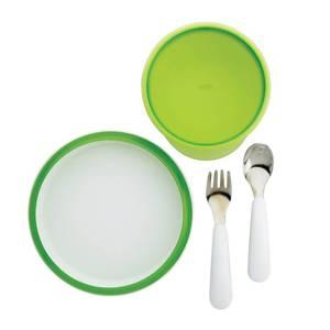 OXO Tot 4 Piece Feeding Set - Green