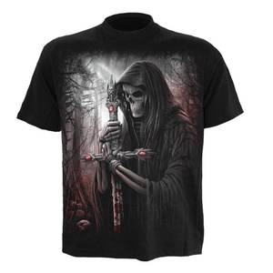 T-Shirt Homme Spiral Soul Searcher - Noir