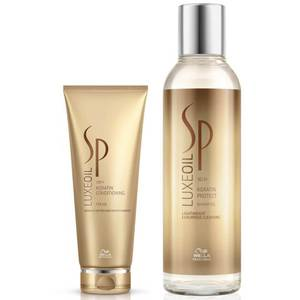 Wella Professionals SP Luxe Oil Keratin Protect Shampoo and Conditioner 200ml