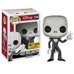 Disney Nightmare Before Christmas Snowflake Jack Skellington Pop! Vinyl Figure