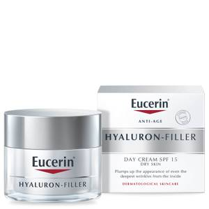Eucerin® Anti-Age Hyaluron-Filler Day Cream for Dry Skin SPF15 + UVA Protection (50ml)