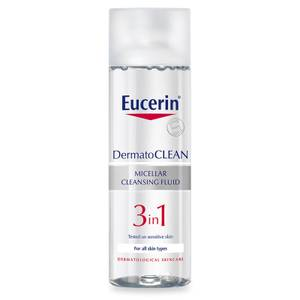 Eucerin® DermatoCLEAN 3-in-1 Micellar Cleansing Fluid (200ml)