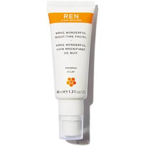 REN Clean Skincare Wake Wonderful Night-Time Facial 40ml