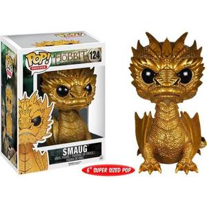 The Hobbit Golden Smaug Oversized 6 Inch Funko Pop! Vinyl